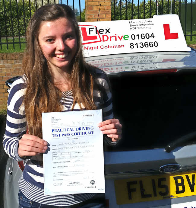 Sophie Freestone Passes with Flexdrive