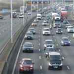 congested motorway image