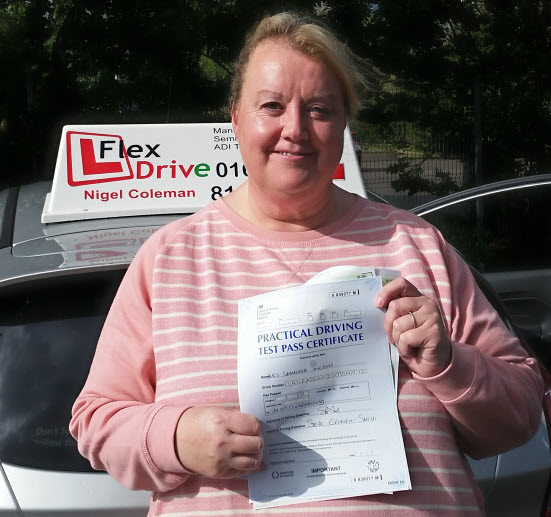 Driving Lessons wellingborough | sam passed first time having taken lessons with Flexdrive
