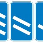 leaving motorway