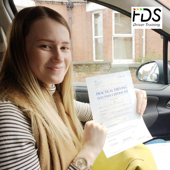 Driving Lessons in Kettering | Katie passed with Flexdrive Driving School
