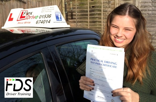 Driving Lessons in Kettering | Molly Scarfe passes with Flexdrive Driving School