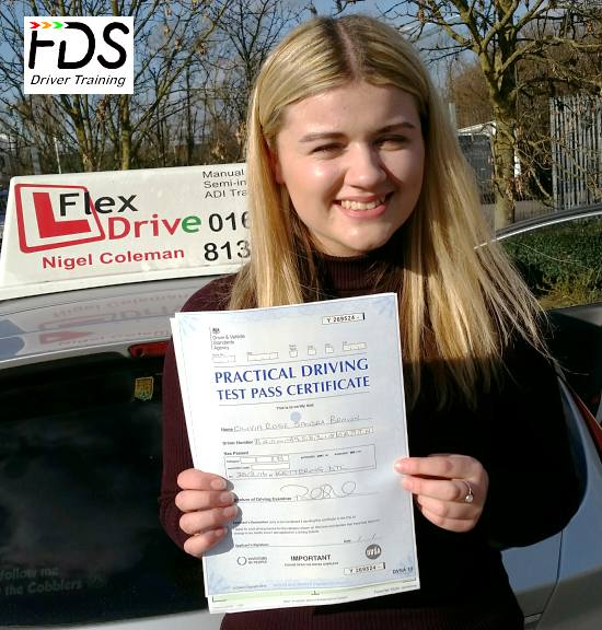 Driving Lessons in Kettering | Olivia passes 1st time with Flexdrive