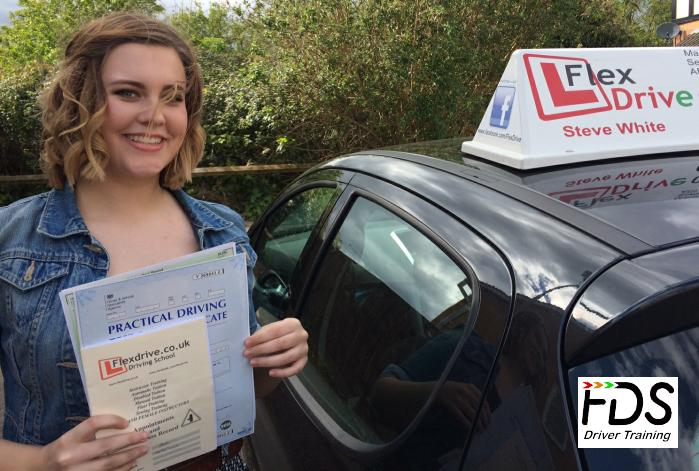 Driving Lessons in Kettering | Beth passes 1st time with Flexdrive Driving School