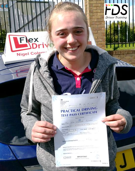 Driving Lessons in Northampton | Katie passed first time with Flexdrive Driving School
