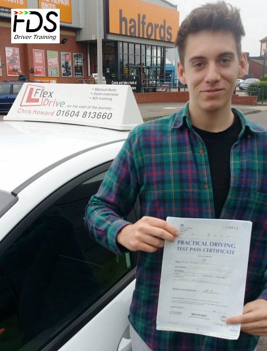 Driving Lessons in Wellingborough | Ben Passes 1st time with Flexdrive Driving School