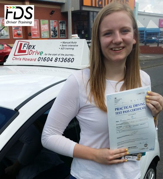Driving Lessons in Wellingborough | Rachael Passes 1st time with Flexdrive Driving School