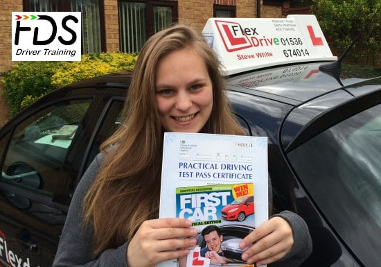 Driving Lessons in Wellingborough | Anna Passed with Flexdrive Driving School