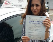 Driving Lessons in Northampton | Molly passes 1st time with Flexdrive driving school