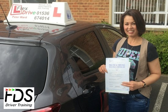Automatic Driving Lessons in Northampton | Thippy passed 1st time with Flexdrive Driving School