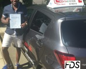 Automatic Driving Lessons in Corby | Johnson passed 1st time