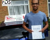 Driving Lessons in Northampton | Theo passed first time with Flexdrive Driving School