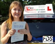 Driving Lessons in Kettering | Alice passes 1st time with 0 driving faults