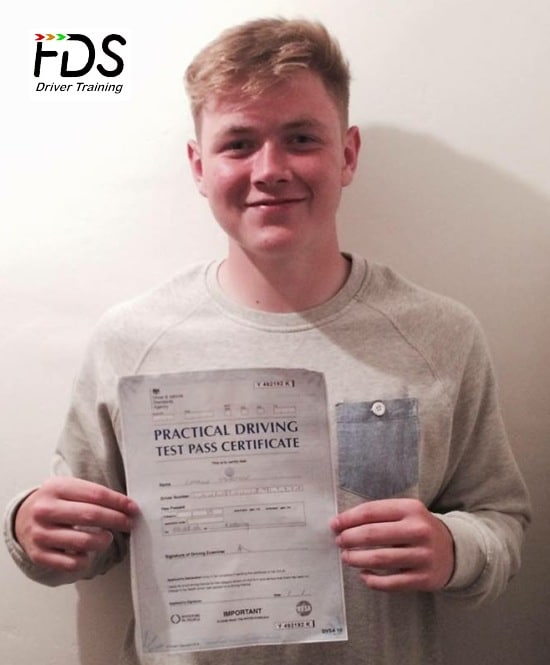 Driving Lessons in Kettering | Charlie passes with 0 Driving Faults