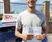 Driving Lessons in Northampton | Emeka passed 1st time with Flexdrive Driving School