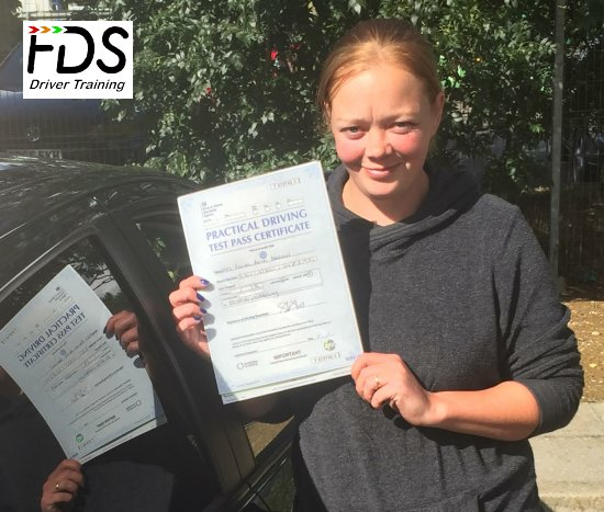 Automatic Driving Lessons in Wellingborough | Rachel passed with Flexdrive Driving School