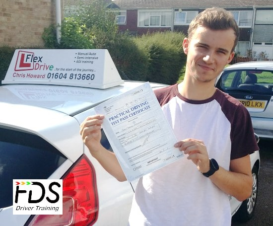 Driving Lessons in Wellingborough | Sean passed with Flexdrive Driving school