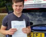 Driving Lessons in Kettering | Max passes with Flexdrive Driving School