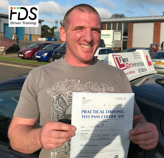 Driving Lessons in Kettering   Peter passed 1st time with Flexdrive Driving School