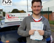 Driving Lessons in Wellingborough | Peter passed 1st time with Flexdrive Driving School