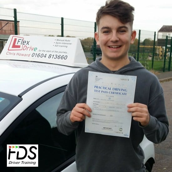 Driving Lessons in Wellingborough | Harru passed with Flexdrive Driving School