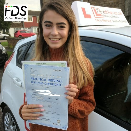 Driving Lessons in Wellingborough | Jordan passes 1st time with Flexdrive Driving School