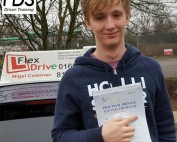 Driving lessons wellingborough | Luke passed with Flexdrive