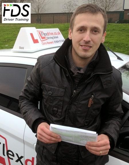 Driving Instructor Training in Northampton | Rafal Zaborowski passes his ADI part 3 1st time