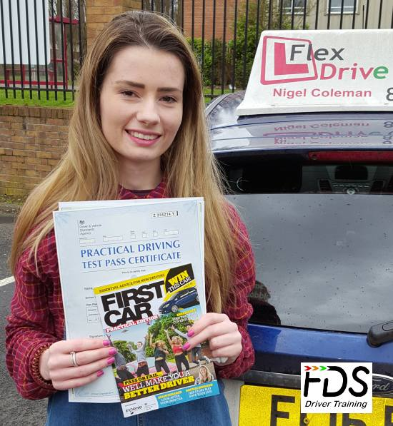 Driving Lessons in Northampton   Summer passes 1st time with Flexdrive Driving School