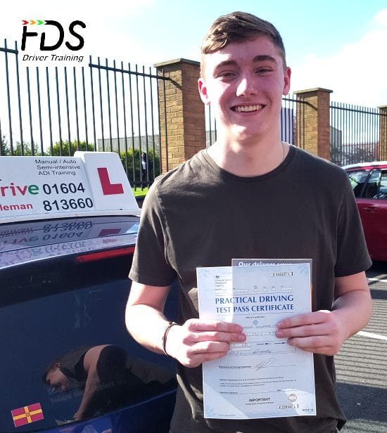 Driving lessons in Northampton | Alex passes 1st time with Flexdrive Driving School