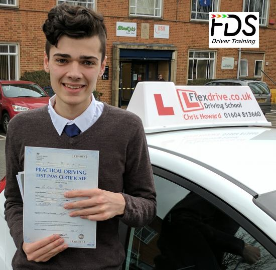 Driving Lessons in Northampton | Rob passed 1st time with Flexdrive Driving School