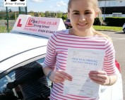 Driving Lessons in Wellingborough | Charlotte passed 1st time with Flexdrive Driving School