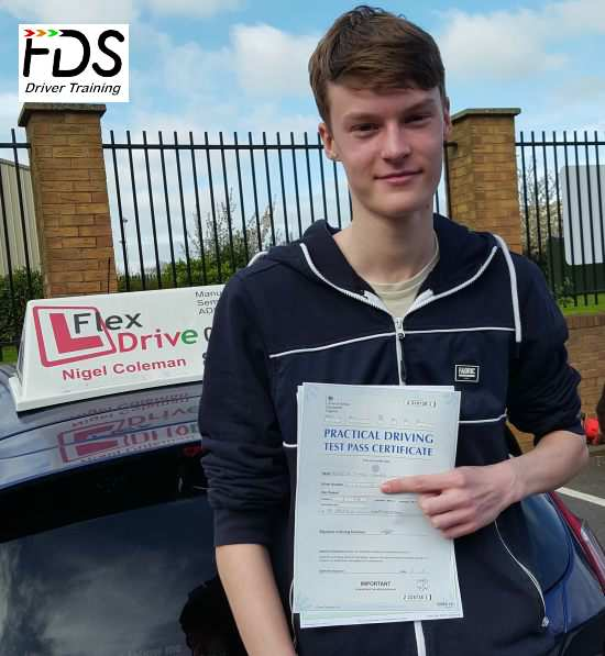 Driving Lessons in Northampton | Gareth passed 1st time with Flexdrive Driving School
