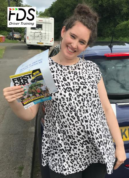 Driving Lessons in Wellingborough | Felicity passes 1st time with Flexdrive Driving School