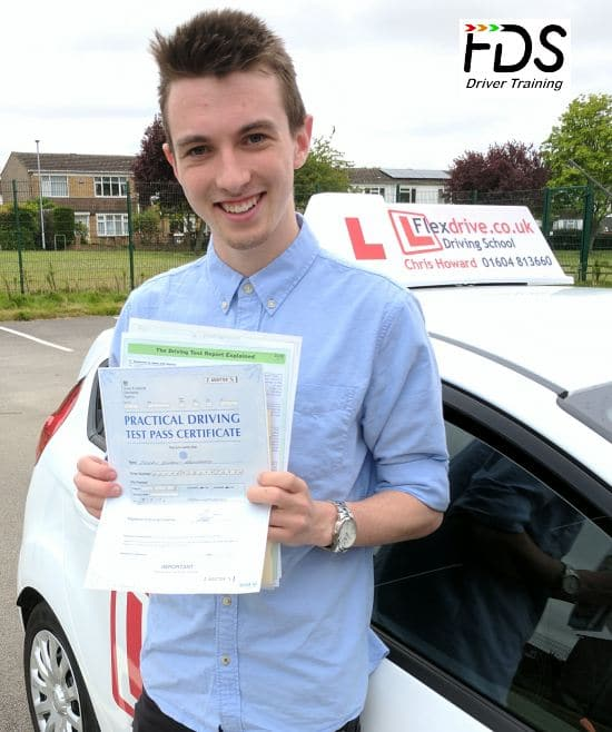 Driving Lessons in Wellingborough | Joe passed 1st time with Flexdrive Driving School