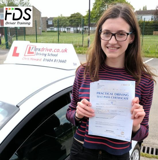 Driving Lessons in Wellingborough | Kathryn passedwith