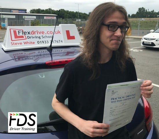 Driving Lessons in Kettering | Jamie passed with Flexdrive Driving School