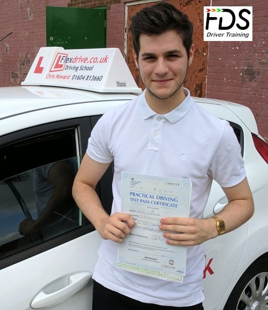 Driving Lessons in Wellingborough | Joe passed with Flexdrive Driving School