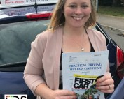 Driving Lessons Kettering | Michele passed 1st time with Flexdrive Driving School