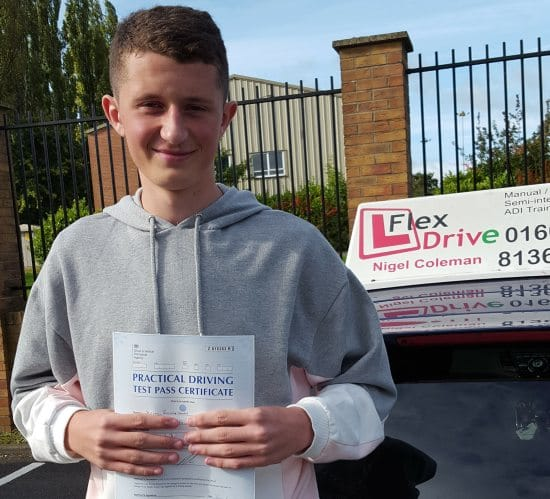 Driving Lessons in Northampton | Mitch Passes 1st time with Flexdrive Driving School