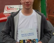 Driving Lessons in Northampton   Callum passes with Flexdrive Driving School