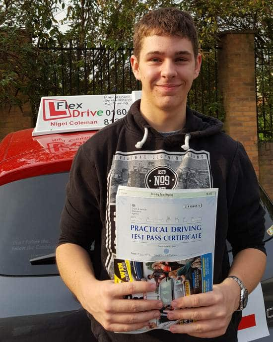 Driving Lessons in Northampton | Ed passes with Flexdrive Driving School