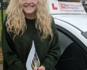 Driving Lessons in Wellingborough | Jodie passed 1st time with Flexdrive Driving School