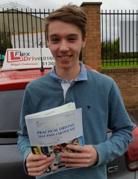 Driving Lessons in Northampton | Tim passed with Flexdrive Driving School