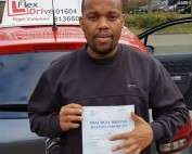 Driving Lessons in Northampton | Jay passed with Flexdrive Driving School