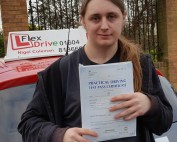 Driving Lessons in Northampton | Ollie passed 1st time with Flexdrive Driving School
