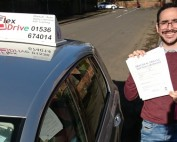 Automatic Driving Lessons in Kettering | Cesar passed with Flexdrive Driving School