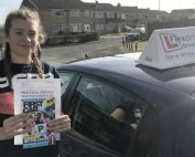 Driving lessons in Kettering | Ellie passed 1st time with Flexdrive Driving school