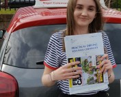 Driving Lessons in Northampton | Isla passed with Flexdrive Driving School