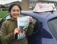 Driving Lessons in Wellingborough | Carmen passed 1st time with Flexdrive Driving School
